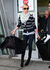 Non-Exclusive<br /> 2011 Nov 16 - Charlize Theron arrives at JFK Airport in NYC. Photo Credit Jackson Lee