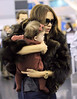 Non-Exclusive<br /> 2011 Nov 16 - Victoria Beckham and baby Harper Seven Beckham fly out of NYC via JFK airport. Photo Credit Jackson Lee