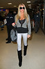 Non-Exclusive<br /> 2011 Nov 17 - Katie Price arrives in New York City. Photo Credit Jackson Lee