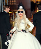 Non-Exclusive<br /> 2011 Nov 21 - Lady Gaga cuts the ribbon at at the launch of her Workshop at Barneys New York in NYC. Photo Credit Jackson Lee
