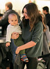 Non-Exclusive<br /> 2011 Nov 27 - Miranda Kerr, baby Flynn Bloom and her sister are out and about in NYC. Photo Credit Jackson Lee