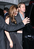 Non-Exclusive<br /> 2011 Dec 5 - Angelina Jolie and Brad Pitt depart the SVA Theater in NYC. Photo Credit Jackson Lee