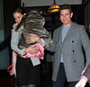 Non-Exclusive<br /> 2011 Dec 16 - Jason Statham and Rosie Huntington-Whiteley out and about in NYC. Photo Credit Jackson