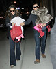 Non-Exclusive<br /> 2011 Dec 17 - Tom Cruise, Katie Holmes, Suri Cruise, Katie's mother Kathleen and father Martin go to see the Radio City Rockettes in NYC. Photo Credit Jackson Lee