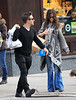 Non-Exclusive<br /> 2011 Dec 22 - David Arquette and Christina McLarty takes the subway in NYC. Photo Credit Jackson Lee