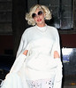 """Non-Exclusive<br /> 2012 Jan 1 - Celebrities arrive at a NYE party at Lady Gaga's father's new restaurant Joanne in NYC.  Lady Gaga and her father originally invested in the Upper West Side restaurant originally named Vince & Eddies.   The restaurant's name, Joanne, is the name of Joseph's sister who died when she was 19 and also the middle name of his famous daughter. It is also being reported that Art Smith, who has worked with Oprah and appeared on """"Top Chef Masters"""" has signed on as chef.  Photo Credit Jackson Lee"""