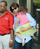 Non-Exclusive <br /> 2011 August 8 - Tom Cruise and Suri Cruise go to Chelsea Piers in NYC. Photo Credit Jackson Lee