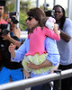 NON EXCLUSIVE<br /> 2011 August 8 - Tom Cruise and Suri Cruise go to Chelsea Piers in NYC. Photo Credit Jackson Lee