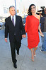 5 May 2010 - Michael Douglas and Catherine Zeta-Jones heads to the Robin Hood Foundation event at the Javits Center in NYC.  Photo Credit Jackson Lee
