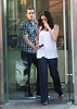 09 July 2009 - Mark McGrath and Carin Kingsland have lunch at Cafeteria in NYC. Photo Credit Jackson Lee