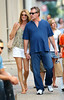 1 Aug 2009 - Ray Liotta kisses Catherine Hickland on the streets of SoHo, NYC. Photo Credit Jackson Lee