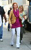 2 Sept 2009 - Cynthia Nixon on the set of 'Sex and the City 2' in NYC.  Photo Credit Jackson Lee