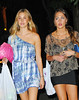 4 Sept 2009 - Whitney Port and Roxy Olin stops by the 'Sex and the City 2' set in NYC.  Photo Credit Jackson Lee