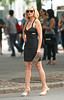 8 Sept 2009 - Sarah Jessica Parker, Kim Cattrall, Cynthia Nixon, Kristin Davis on the set of 'Sex and the City 2'.  Photo Credit Jackson Lee