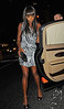 23 Sept 2009 - Naomi Campbell goes to Nobu 57 in NYC. Photo Credit Jackson Lee