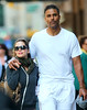 6 Oct 2009 - Rick Fox and Eliza Dushku out and about in NYC. Photo Credit Jackson Lee