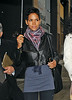 15 Oct 2009 - EXCLUSIVE: Halle Berry looks svelte and gorgeous as she goes to a downtown office building in NYC in the pouring rain. Photo Credit Jackson Lee