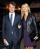 22 Oct 2009 - Hugh Dancy and Claire Danes depart the American Airlines theater after attending the opening night of 'After Miss Julie' starring Sienna Miller in NYC. Photo Credit Jackson Lee