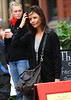 1 Nov 2009 - Katie Holmes grabs a quick lunch in Boston, MA.  Photo Credit Jackson Lee