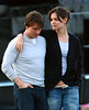 1 Nov 2009 - Tom Cruise and Katie Holmes share a romantic walk in Boston, MA with arms around each other.  Photo Credit Jackson Lee