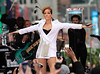 24 Nov 2009 - Rihanna performs on GMA in Times Square, NYC. Photo Credit Jackson Lee