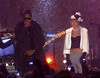 19 Dec 2009 - Rihanna and Jay-Z pretape a performance for New Years at Rockefeller Center.  Photo Credit Jackson Lee