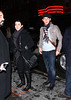 20 Dec 2009 - EXCLUSIVE: First shots of Joe Jonas, Nick Jonas, mom Denice Marie Miller Jonas, and friends attending Mary Poppins after Kevin Jonas' wedding over the weekend in NYC.  Photo Credit Jackson Lee