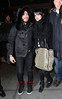 3 Feb 2010 - Ashlee Simpson and Pete Wentz go to see the Knicks play against the Washington Wizards at Madison Square Garden in NYC.  Photo Credit Jackson Lee