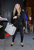 8 Feb 2010 - Heidi Klum departs GMA in NYC.  Photo Credit Jackson Lee