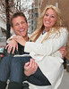 2 Mar 2010 - Jake Pavelika aka The Bachelor kisses fiance Vienna Girardi, sweeps her off her feet, and shows off her engagement ring on the streets of NYC.  Photo Credit Jackson Lee