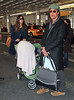 9 Mar 2010 - Matthew Mcconaughey, Camila Alves, Levi Alves Mcconaughey arrive at JFK Airport in NYC.  Photo Credit Jackson Lee