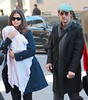 9 Mar 2010 - Matthew Mcconaughey, Camila Alves, daughter Vida Alves Mcconaughey out and about in NYC.  Photo Credit Jackson Lee