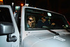 3 April 2010 -Jay-Z and Beyonce go to see Chicago starring former band-mate Michelle Williams, then drive off in their customized Jeep in NYC.  Photo Credit Jackson Lee