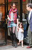 4 Apr 2010 - Katie Holmes and Suri Cruise pay a visit to The City Bakery in NYC.  Photo Credit Jackson Lee