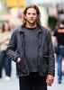 7 Apr 2010 - Bradley Cooper looks scruffy in NYC.  Photo Credit Jackson Lee