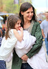 """1- April 2010 - Suri Cruise visits mommy Katie Holmes on the set of her movie """"Son of No One"""" in Queens, NY.  Photo Credit Jackson Lee"""