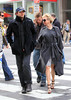 EXCLUSIVE<br /> 18 April 2010 - Renee Zellweger and Bradley Cooper go see a Broadway show then Renee goes to get coffee for the two of them in NYC.  Photo Credit Jackson Lee