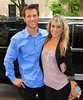 29 Apr 2010 - Jake Pavelka and Chelsie Hightower out and about in NYC.  Photo Credit Jackson Lee