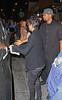 30 April 2010 - Halle Berry has a night out holding hands with a mystery male at 'Fences' starring Denzel Washington the day news broke regarding her breaking with Gabriel Aubry in NYC.  Photo Credit Jackson Lee