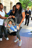 5 May 2010 - EXCLUSIVE: First paparazzi shots of Jennifer Hudson with her newborn baby David Otunga Jr. in NYC.  Photo Credit Jackson Lee