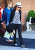5 May 2010 - Marion Cotillard heads out of her hotel in NYC.  Photo Credit Jackson Lee