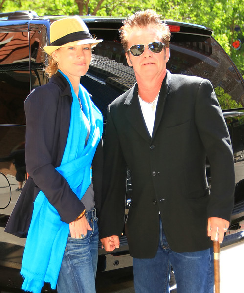 15 May 2010 - John Mellencamp and Elaine Irwin out and about in NYC.  Photo Credit Jackson Lee