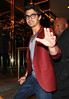 2010 May 18 - EXCLUSIVE: Nick Jonas and Joe Jonas goes to see 'In the Heights' with Demi Lovato and Kevin Jonas (not pictured) in NYC. Photo credit Jackson Lee