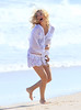 20 May 2010 - Kate Hudson gets picked up, then kissed by Colin Egglesfield in a romantic scene on the beach in the Hamptons, NYC.  Photo Credit Jackson Lee