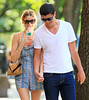 30 May 2010 - Whitney Port enjoys a nice romantic walk through the West Village and Soho on a warm sunny day in NYC with boyfriend Ben Nemtin.  Photo Credit Jackson Lee