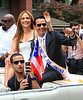 2010 June 13 - Jennifer Lopez and Marc Anthony at the Puerto Rican Day Parade in NYC. Photo credit Jackson Lee