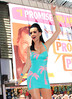 2010 June 15 - Katy Perry rolls out the new Volkswagen Jetta in Times Square, NYC. Photo credit Jackson Lee