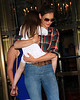 2010 June 21 - Katie Holmes, Isabella Cruise, and Suri Cruise out and about in NYC. Photo credit Jackson Lee