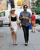 2010 June 25 - Kirsten Dunst out and about in NYC with her brother.  Photo credit Jackson Lee