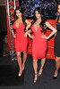 2010 July 1 - Kim Kardashian poses with her wax statue at Madame Tussaud's in NYC.  Photo credit Jackson Lee